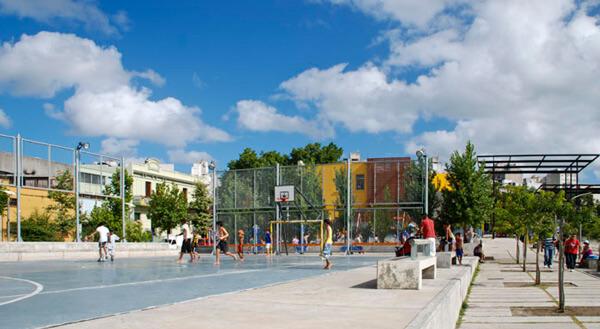 Plaza Liber Seregni en Montevideo, Uruguay