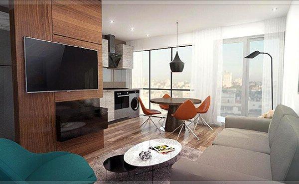 Alquimia - Render apartamentos tipo 02