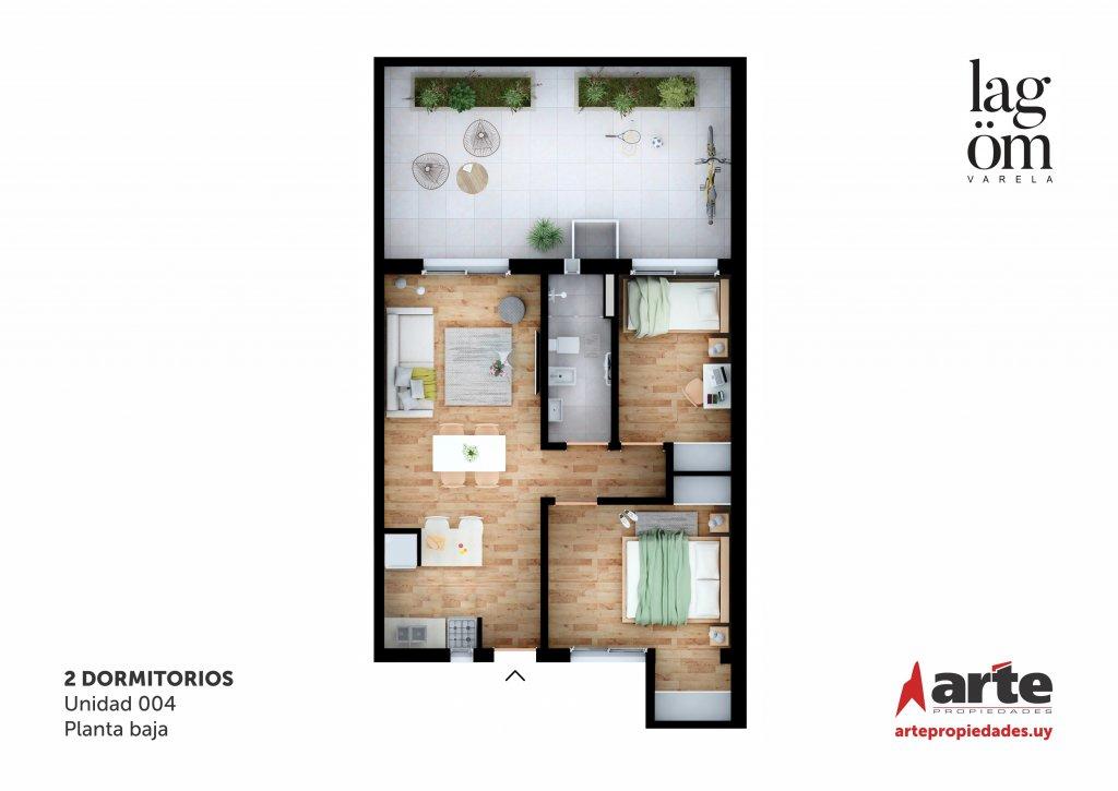 Lagom Varela 2 Dormitorios 004