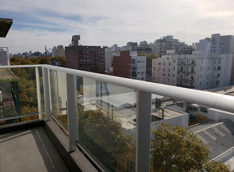 Be Palermo 2 dormitorios - balcón