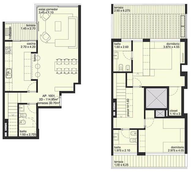 City Blanes 2 dormitorios 1001
