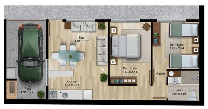 Verde Prado 2 dormitorios 015 019