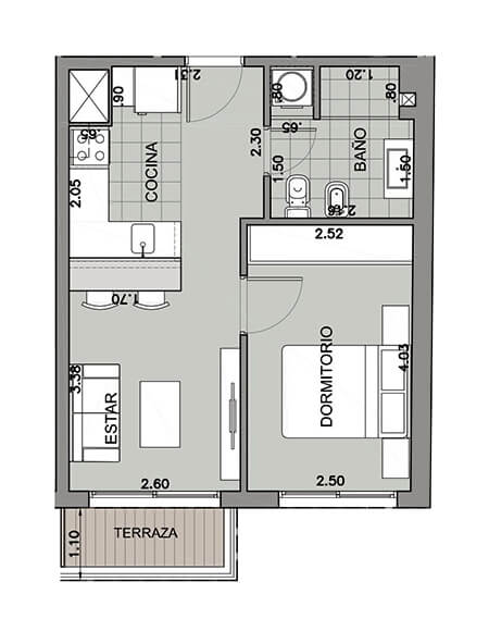 na pali 1 dormitorio 101