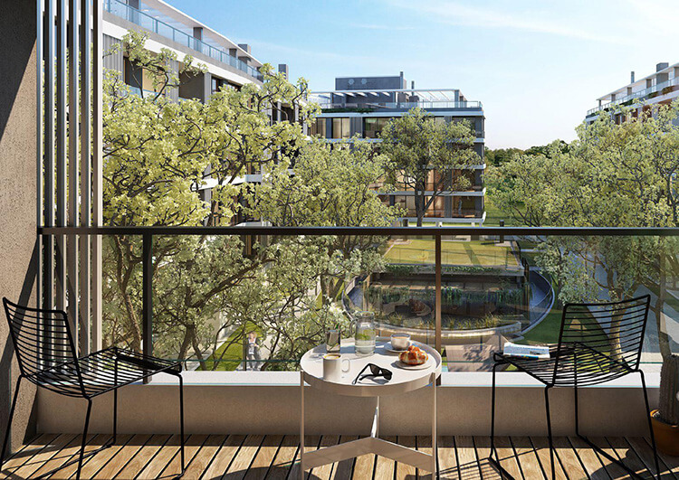 Be Parklife terraza