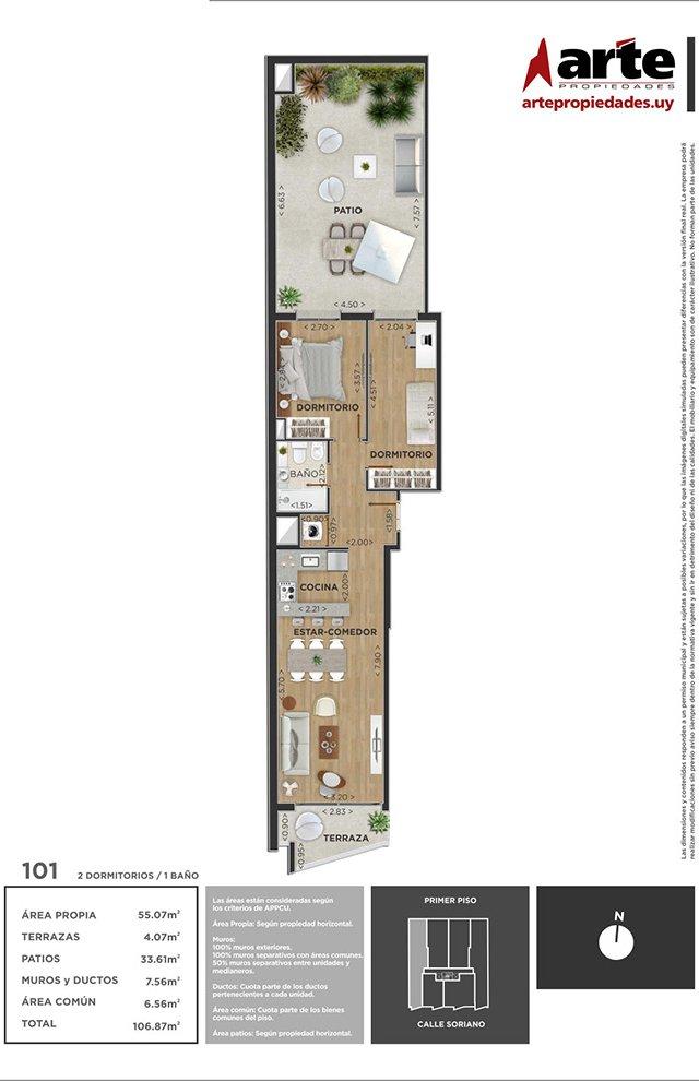 Domini Soriano 2 dormitorios 101