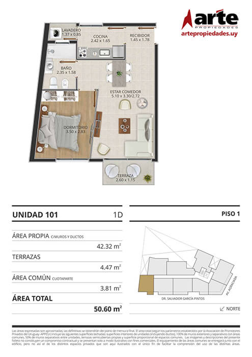 Eminent 1 dormitorio 101