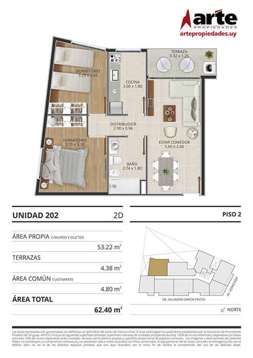 Eminent 2 dormitorios 202