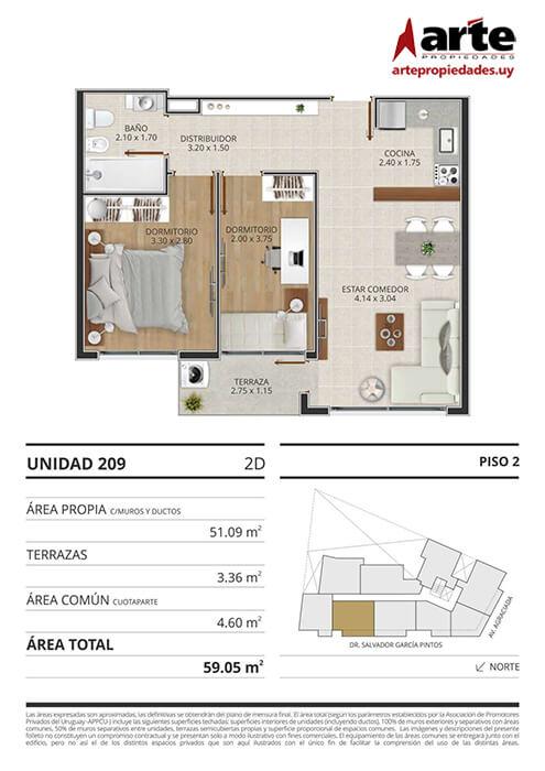 Eminent 2 dormitorios 209