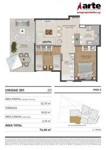 Eminent 2 dormitorios 301
