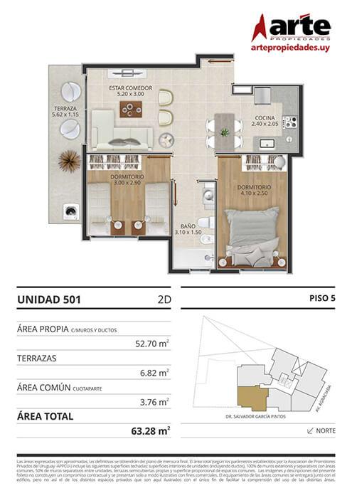 Eminent 2 dormitorios 501