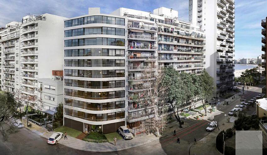 Pocitos Plaza – Pocitos Nuevo: 1 Ambiente, 1, 2 y 3 Dormitorios