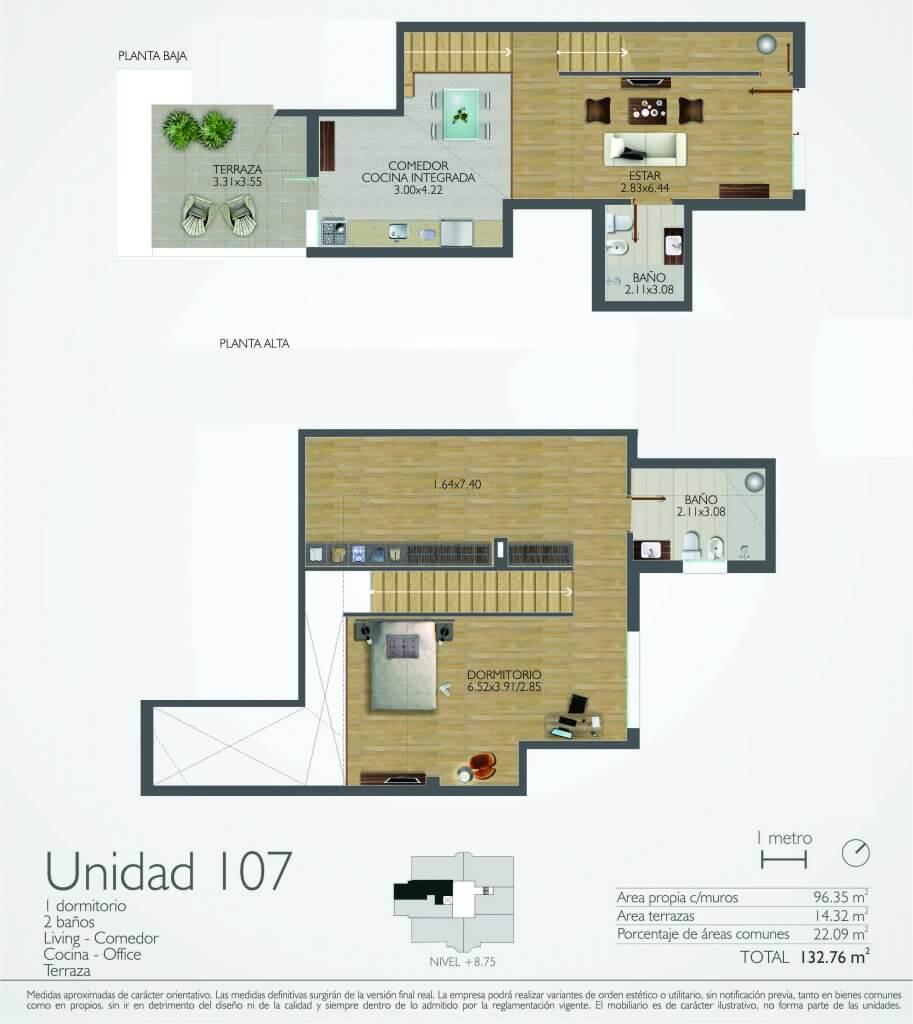 107 Town Park 1 Dormitorio