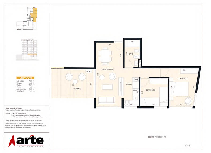 MasMio Design 2 dormitorios 202