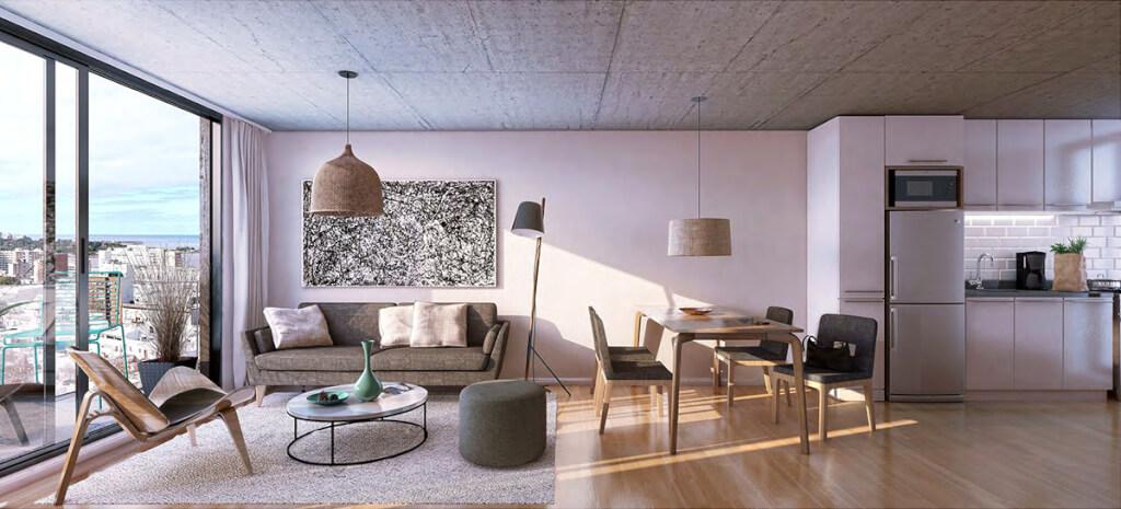 MasMio Design 2 dormitorios living