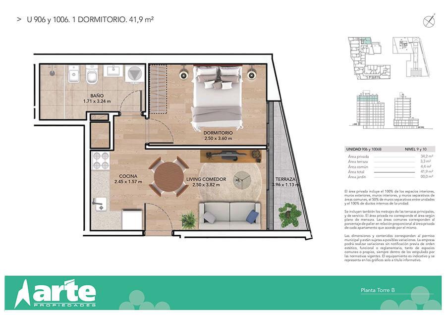 Ventura Boulevard 1 dormitorio 906-1006